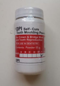 SELF CURE TOOTH MOLDING POWDER (FOR TEMPORIZATION) 100 GM