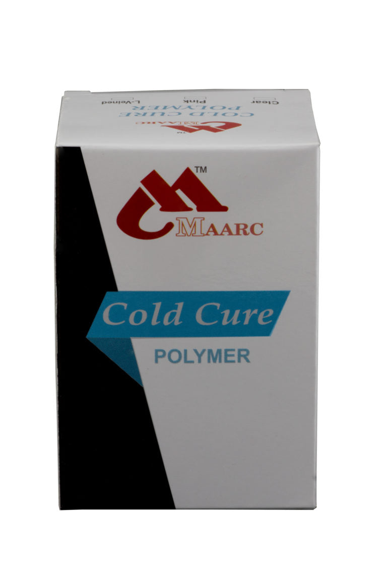 COLD CURE POLYMER (RAPID REPAIR) POWDER 100 GM (PINK)