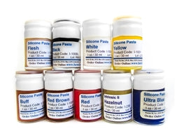 PIGMENTS FOR SILICONE (INTRINSIC) (WHITE/YELL/RED/BROW/VIO