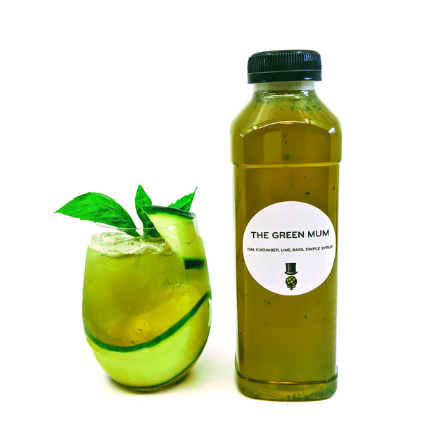 The Green Mum Cocktail (2 Drink Servings)