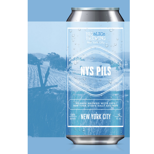 NYS Pils: Big aLICe Brewing (Four Pack)