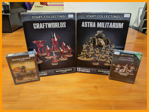 Warhammer Start Collecting! Easy to Build Kits