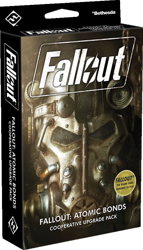 Fallout The Board Game - Atomic Bonds Cooperative Upgrade Pack | Elandrial Games Albany