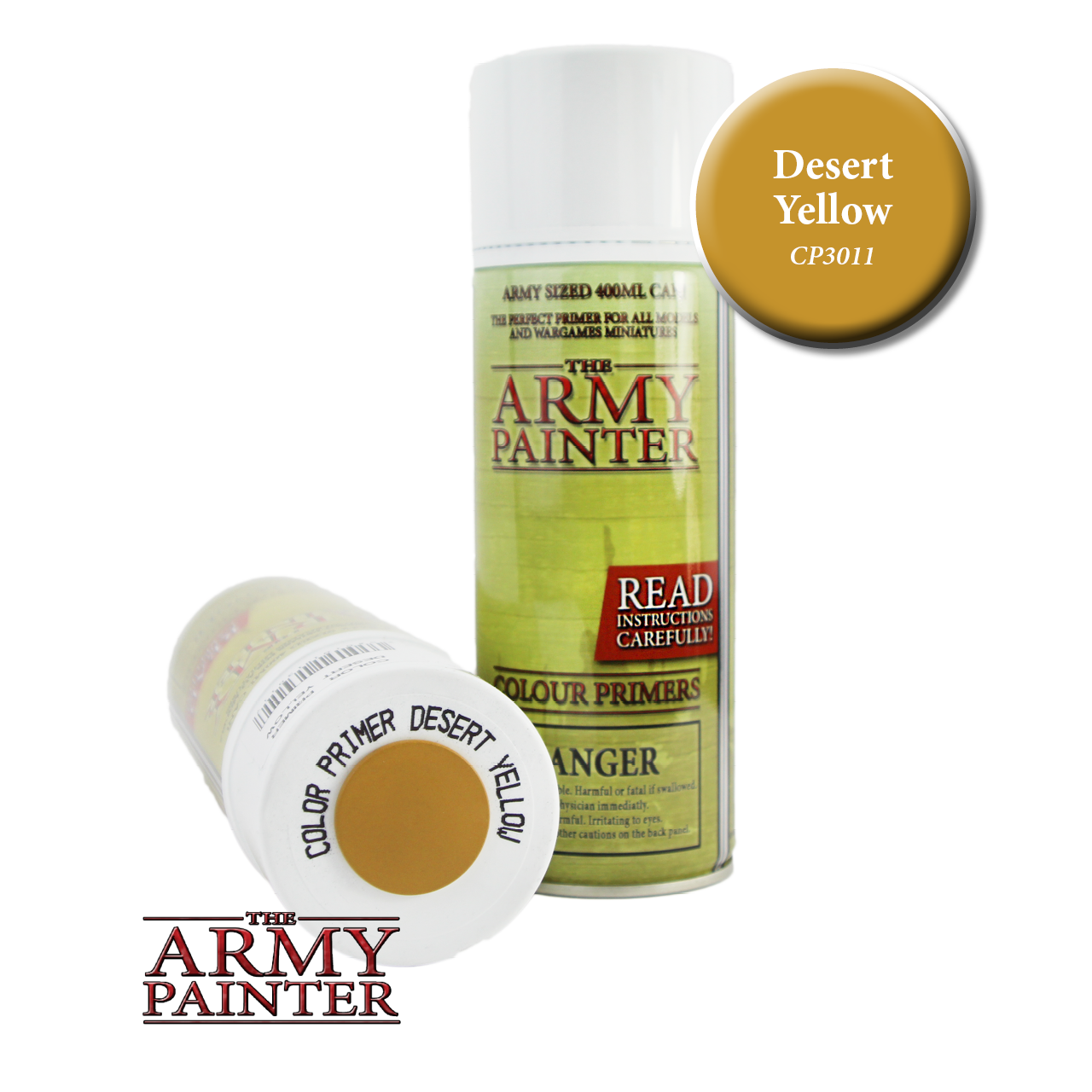 Army Painter - Spray Primer - Desert Yellow (Pickup Only) | Elandrial Games Albany