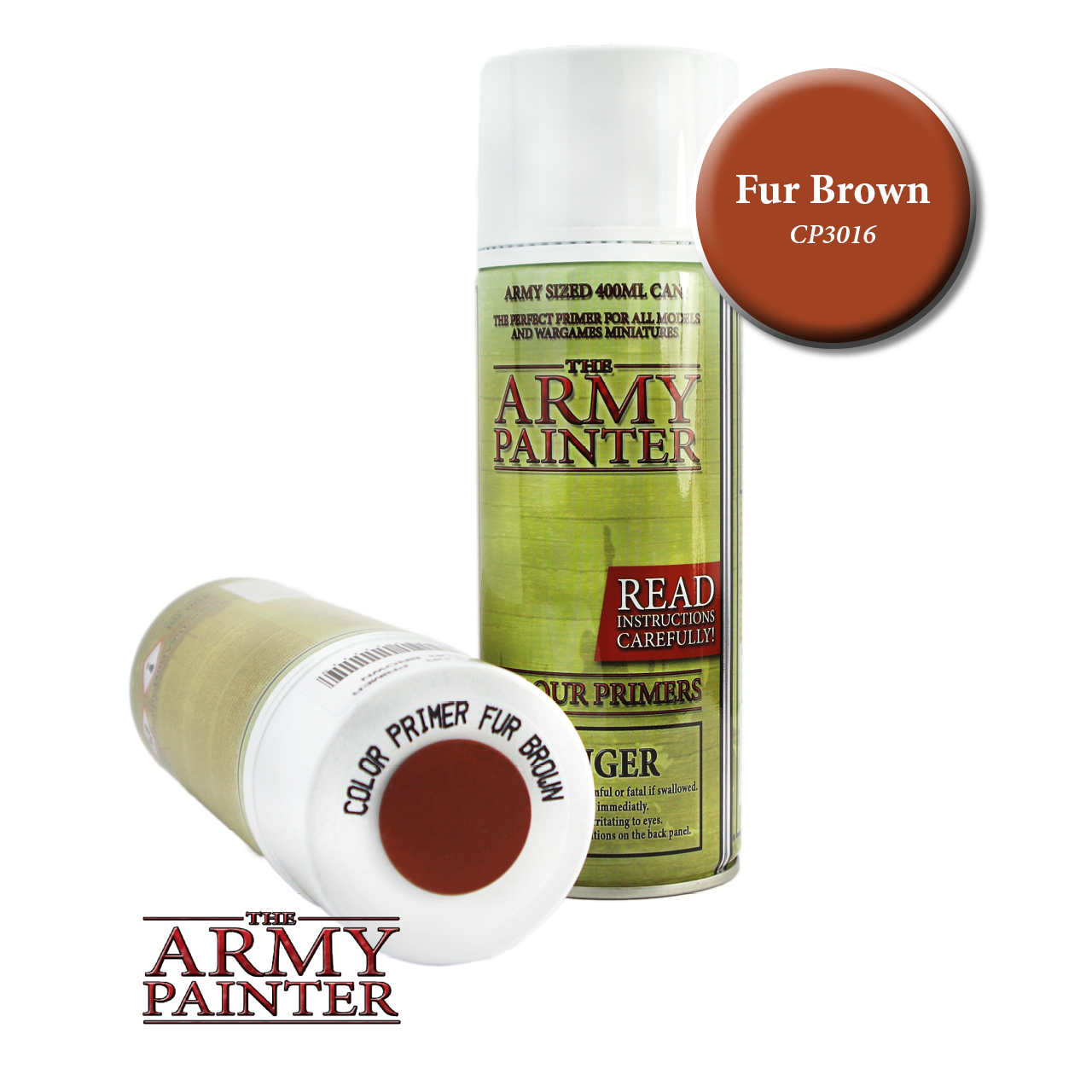 Army Painter - Spray Primer - Fur Brown (Pickup Only) | Elandrial Games Albany
