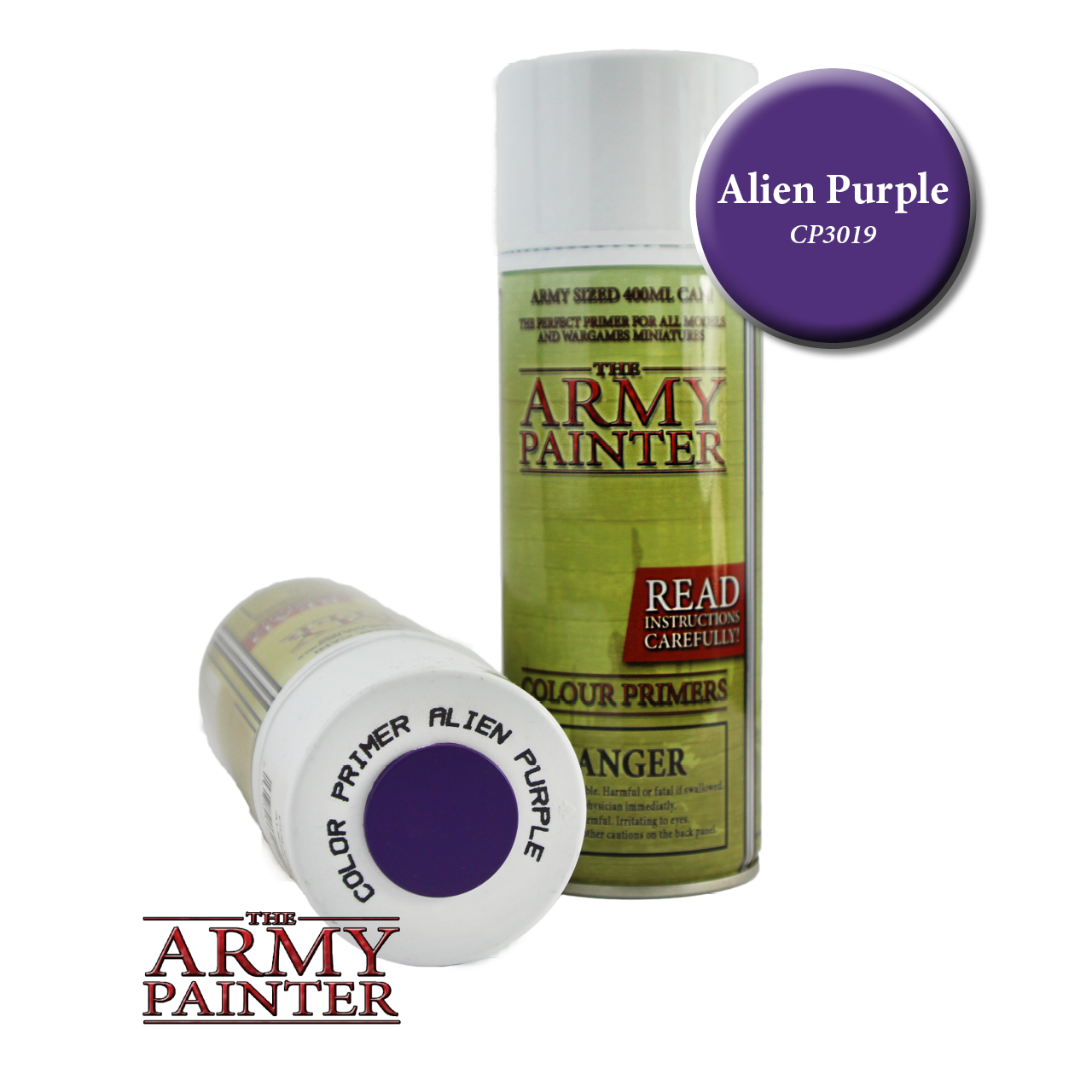 Army Painter - Spray Primer - Alien Purple (Pickup Only) | Elandrial Games Albany