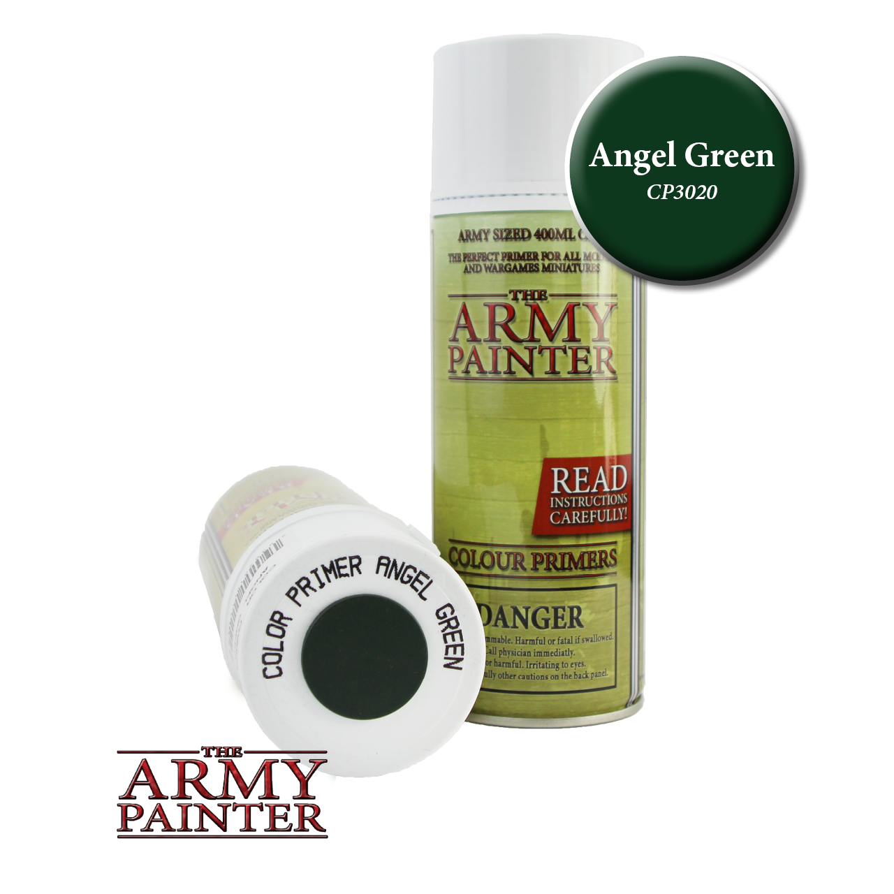 Army Painter - Spray Primer - Angel Green (Pickup Only) | Elandrial Games Albany
