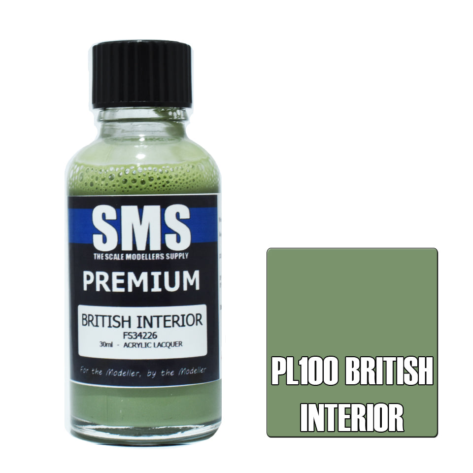 SMS - Premium - British Interior (30ml) | Elandrial Games Albany