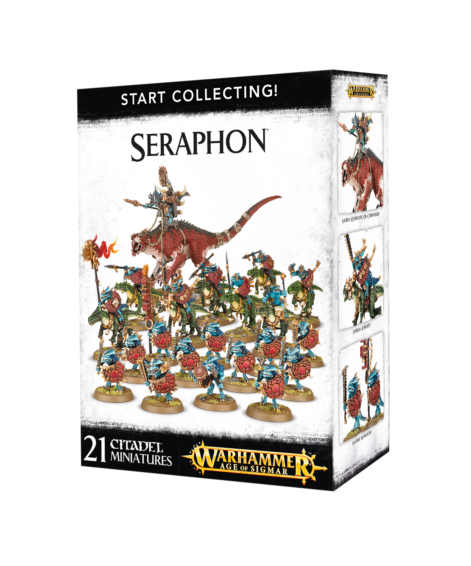 Start Collecting! Seraphon | Elandrial Games Albany