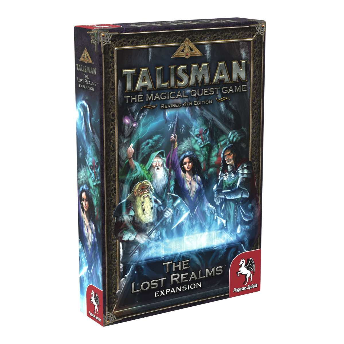 Talisman 4th Ed - The Lost Realms Expansion | Elandrial Games Albany