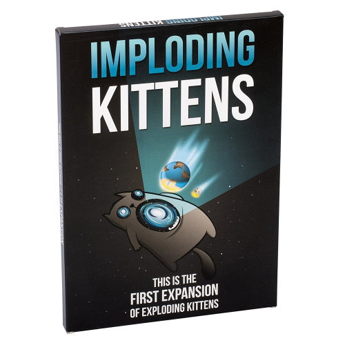 Imploding Kittens (Exploding Kittens Expansion) | Elandrial Games Albany