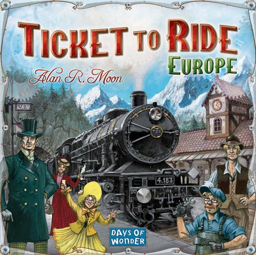 Ticket To Ride - Europe | Elandrial Games Albany