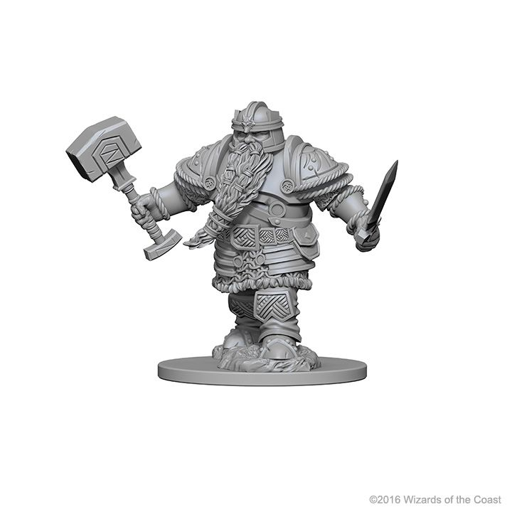 D&D - Nolzurs - Dwarf Male Fighter (WZK72616) | Elandrial Games Albany