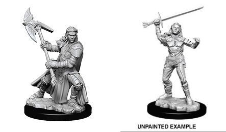 D&D - Nolzurs - Half-Orc Female Fighter (WZK73542) | Elandrial Games Albany