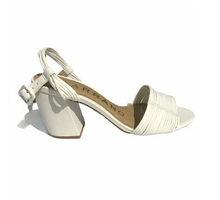 Load image into Gallery viewer, Carrano Nora  White Ankle Strap Sandal