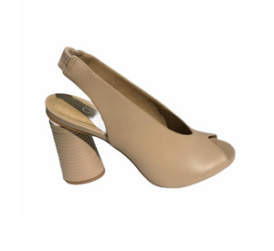 Carrano Frances Nude Sling Back