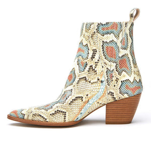 Matisse Elevation Snakeskin Boot