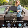 Best Universal Car Window Sun Shade Curtain (Fits all Cars)