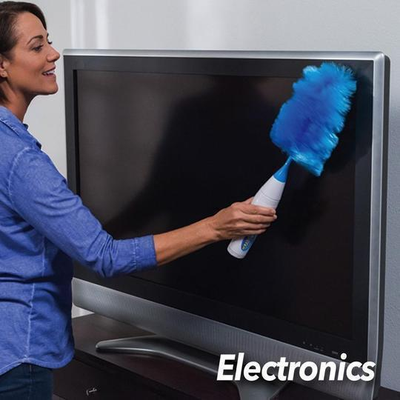 Electric duster feather duster