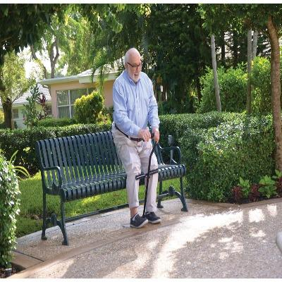Cane-Support elder stand up and sit down easily