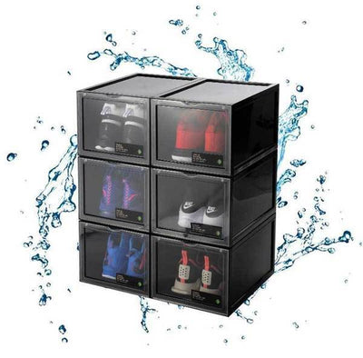 2021 Drawer Type Shoe Box-Stacking Storage Box Shoes Container