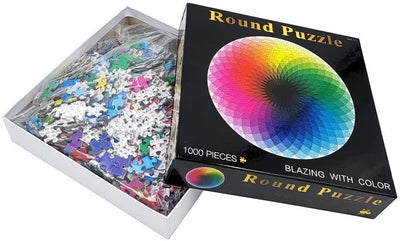 Moruska Large 1000-Piece Rainbow Puzzle