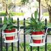 Waykify™ Hanging Flower Pot Stand Rack Shelf Balcony Plants Holder Windows