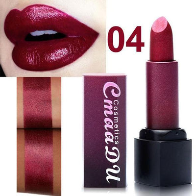 Metallic Waterproof Lasting Lipstick