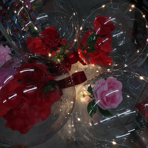 LED Balloon Rose Bouquet