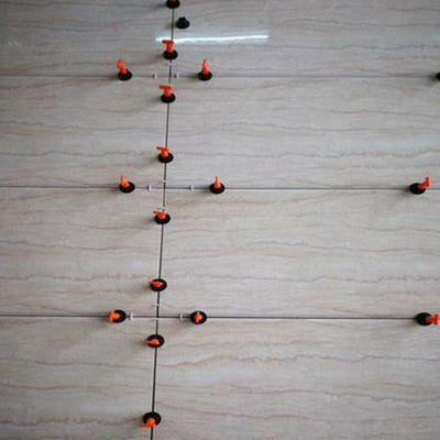Reusable Anti-Lippage Tile Leveling System (50 Pcs/Pack)