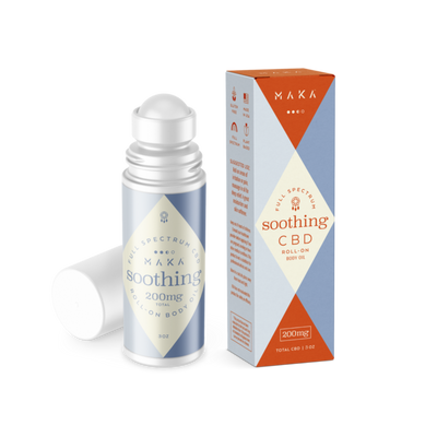 Soothing Body Oil, 200mg/3oz