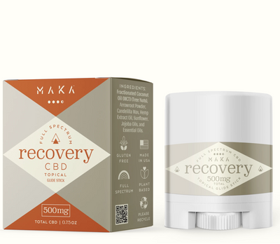 Recovery and Wellness Bundle - 500mg Topical Recovery Stick, 20mg Daily Wellness