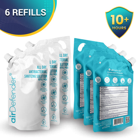 Business Essentials' Sanitizer Refill Bundle ( 6 Refills)