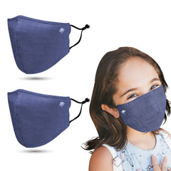 Breathable Antimicrobial Kids' Cloth Face Mask (2 Pack)