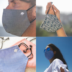 Breathable Antimicrobial Cloth Face Mask For Men and Women (2 Pack)
