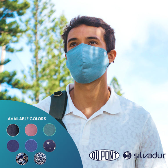 airDefender airMask Face Mask anti-Covid 19 and coronavirus protection cotton face mask