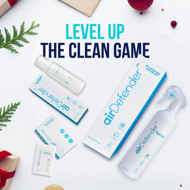 Level up the Clean Game this Yuletide - airDefenderUSA