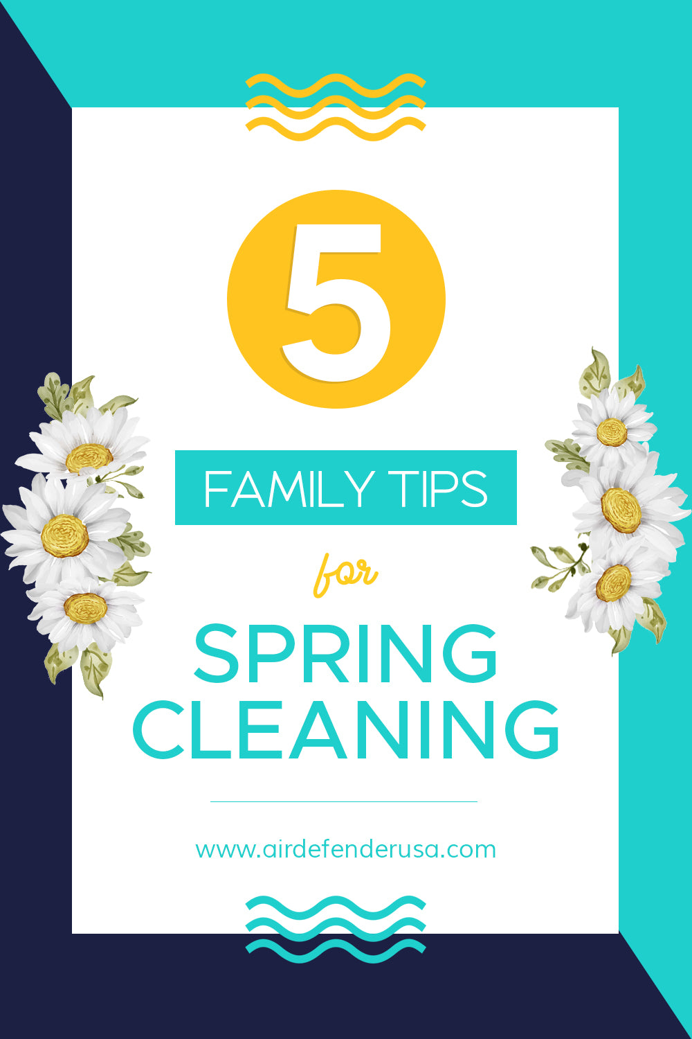 5 Family Tips For Spring Cleaning
