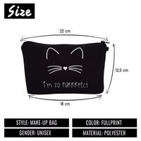 Cat Cosmetics Bag