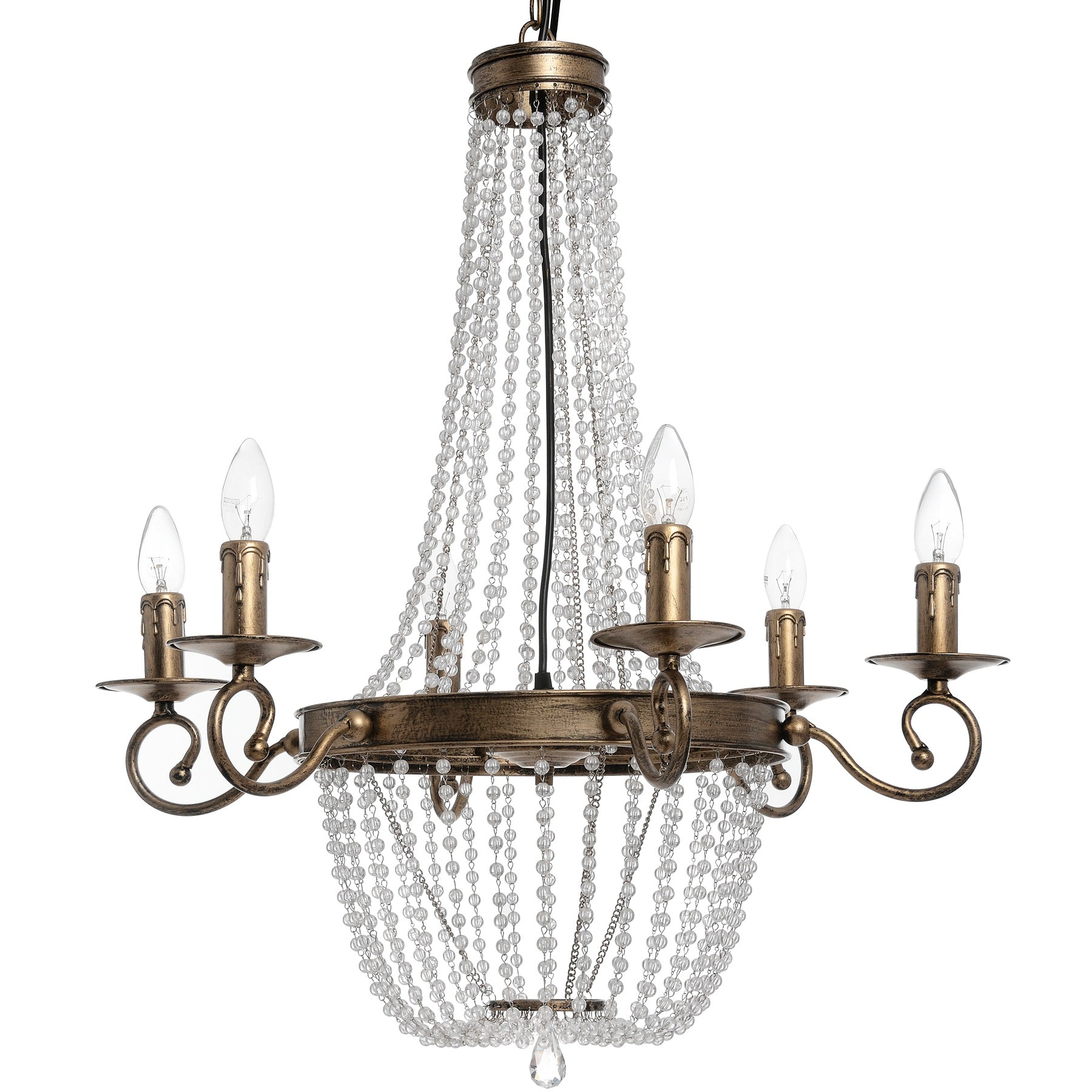 Antique Gold Venetian Chandelier