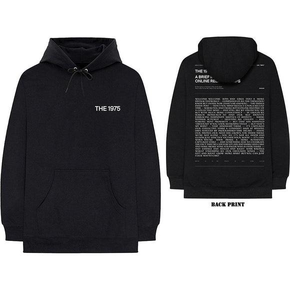 The 1975 ABIIOR Welcome Welcome  V.2 Unisex Pullover Hoodie (Back Print) - The Musicstore UK