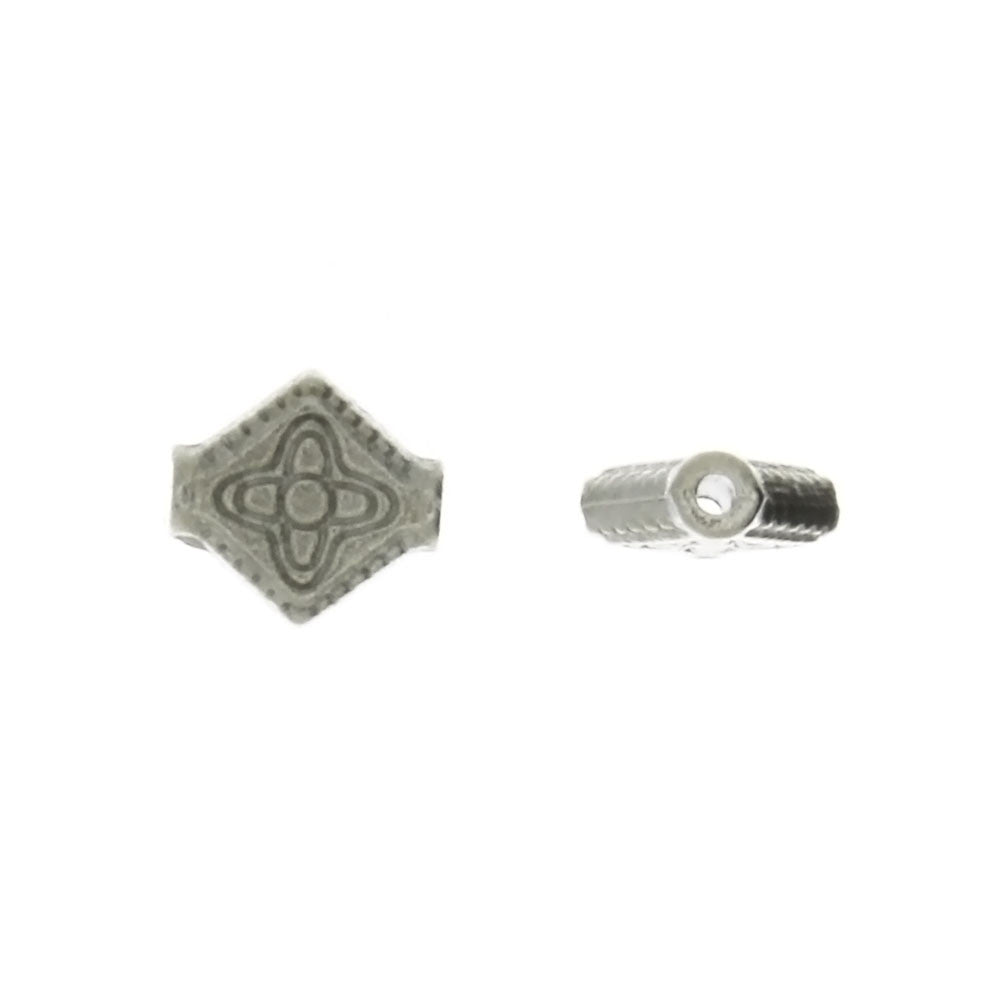BEAD SYMBOL CROSS 9 X 10 MM