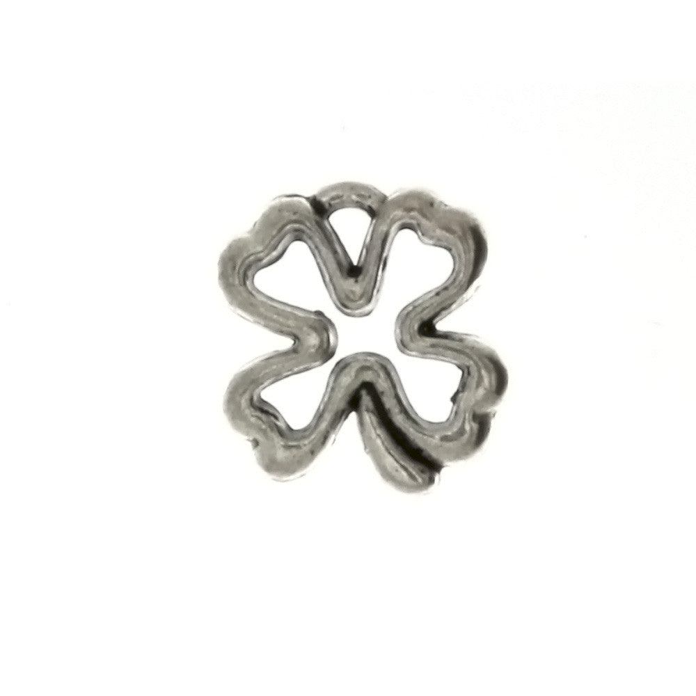 NATURE SHAMROCK 11 X 12 MM PEWTER CHARM