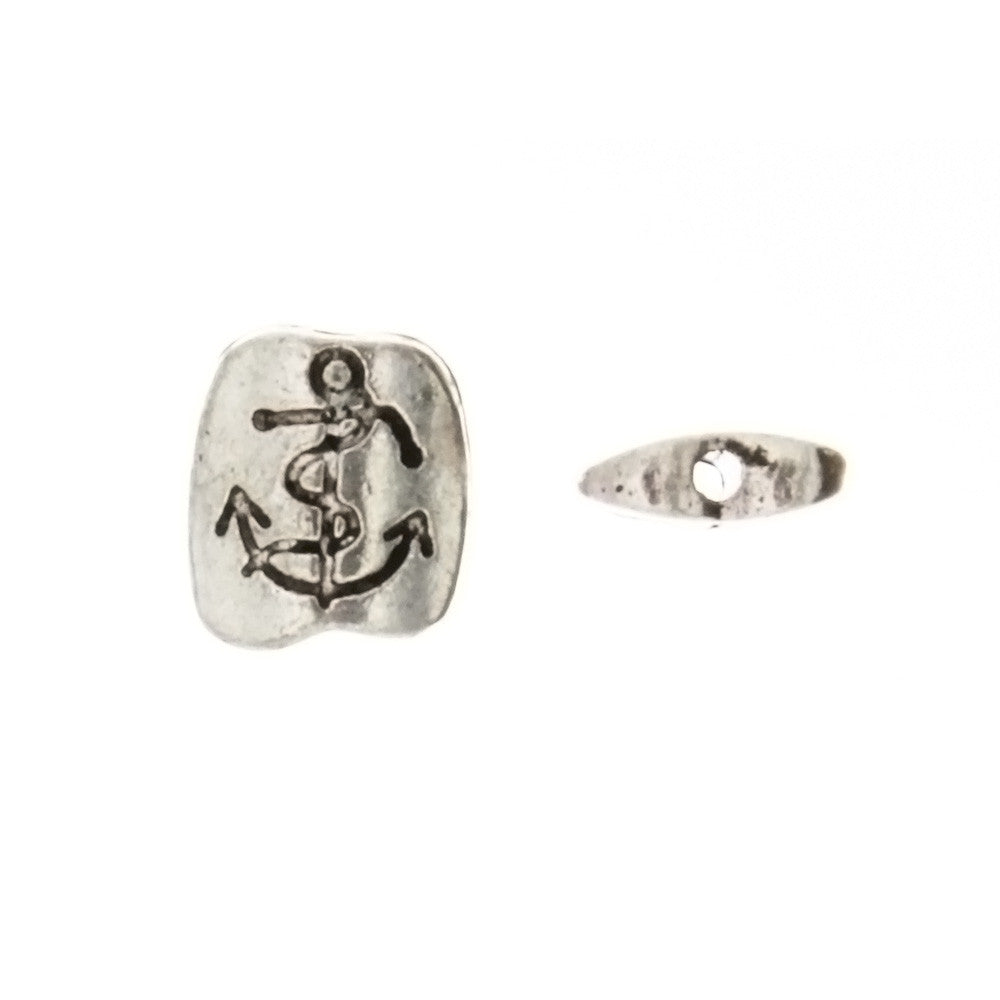BEAD NOVELTY ANCHOR 8 X 10 MM