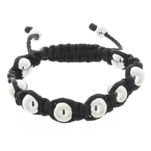 TREND CORD STAINLESS STEEL ROUND BRACELET