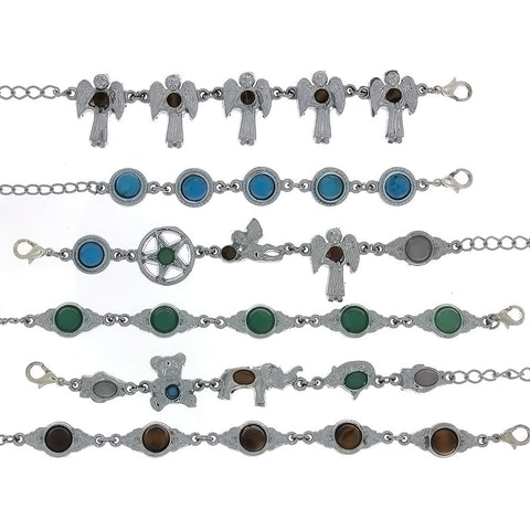 LINK GEMSTONE DESIGN BRACELET (6)