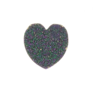 SPECIMEN GEMSTONE CRYSRAL DRUZY HEART