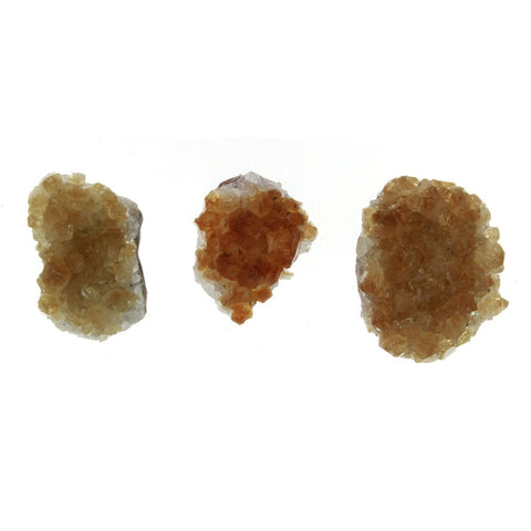 FREEFORM GEMSTONE CITRINE CRYSTAL CABOCHONS