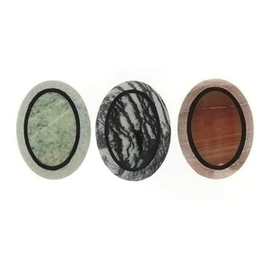 GEMSTONE VARIOUS INLAY CABOCHONS