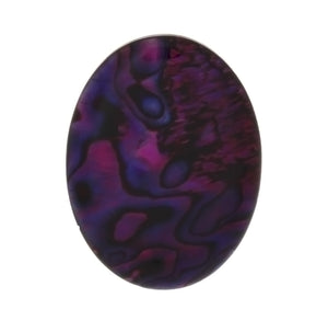 PAUA SHELL PURPLE CABOCHONS